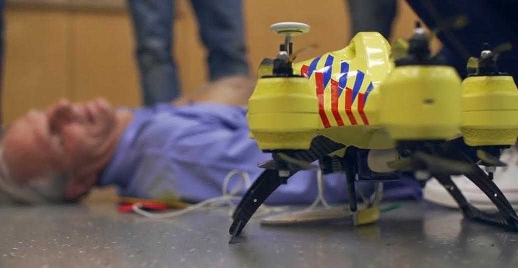 Drone ambulância pode salvar vidas (Foto: Reprodução)