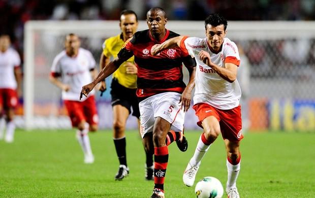 Dátolo marcou no empate contra o Flamengo (Foto: Alexandre Lopes / Inter, DVG)