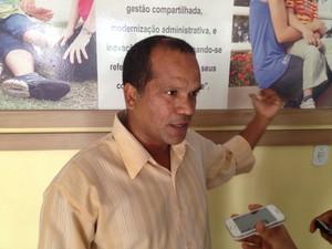 Iranildo Maciel, policial civil responsável pela prisão do agente  (Foto: John Pacheco/G1)