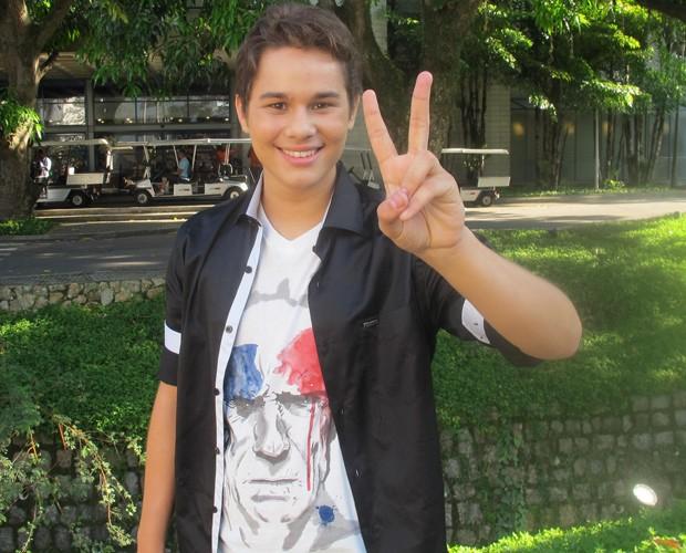 Gabriel Levan convoca talentos para o The Voice Brasil 2013 (Foto: The Voice Brasil/TV Globo)