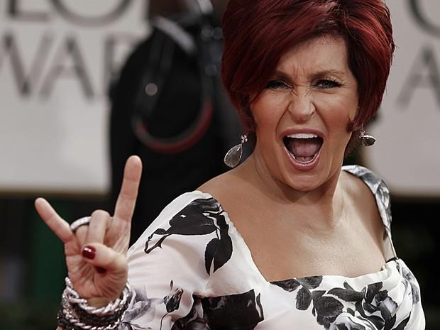 Sharon Osbourne Globo de Ouro (Foto: AP)