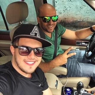 Ronaldo Miranda e Vitor Leonardo (Foto: Reprodução/ Instagram)