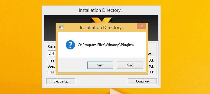 Confirmando instalação do plugin (Foto: Reprodução/Helito Bijora)