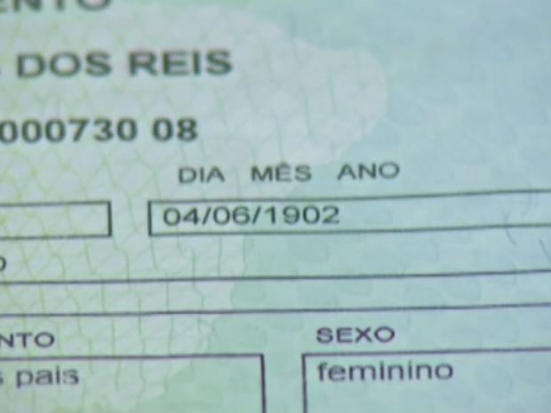 Maria da Conceição completa 114 anos de vida em Cabo Frio (Foto: Reprodução/Inter TV)