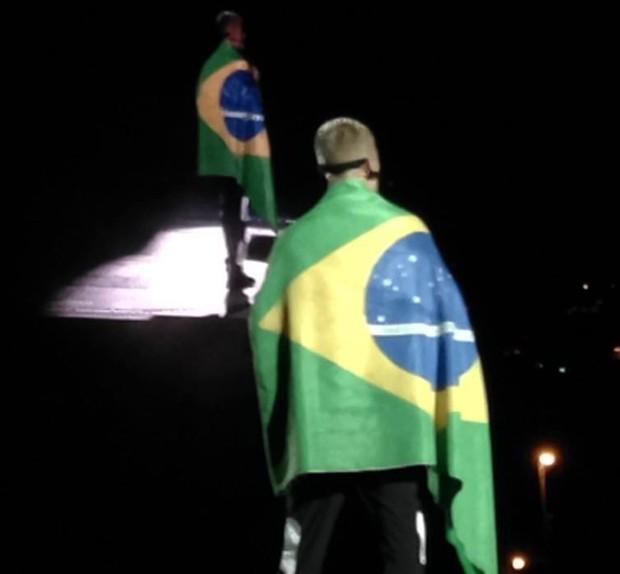 Justin Bieber em show no Rio de Janeiro (Foto: QUEM)