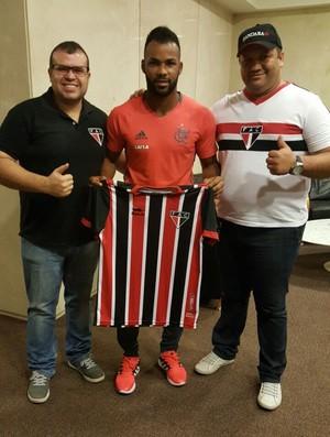 Fernandinho; atacante do Flamengo Ferroviário (Foto: Divulgação/Ferroviário)