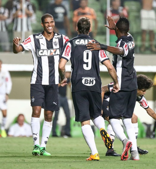 ninguém à frente (Bruno Cantini/ Flickr Atlético-MG)
