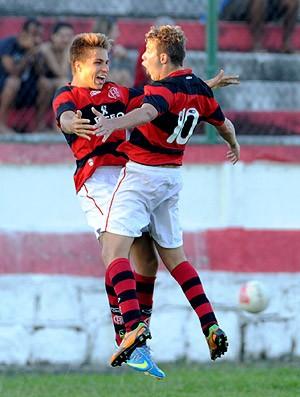 Thomas Sartorio Flamengo campeão juniores  (Foto: Divulgação / Fla Imagem)
