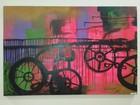 Artista expõe obras com tema mobilidade em Sorocaba