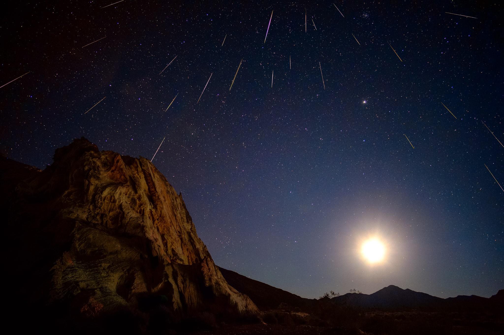 Chuva de meteoros Geminídeas de 2014 nos EUA (Foto: David Kingham/flickr/creative commons)