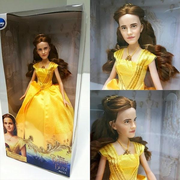 A boneca de 'A Bela e a Fera' inspirada em Emma Watson (Foto: Reprodução)
