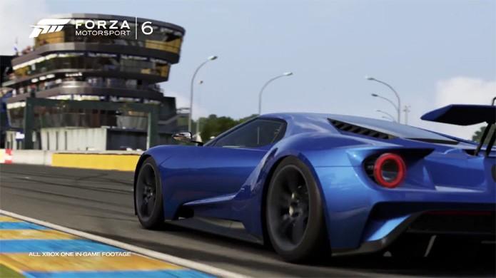 Belos gráficos de Forza Motorsport 6 exibem o poder do Xbox One (Foto: Reprodução/YouTube)