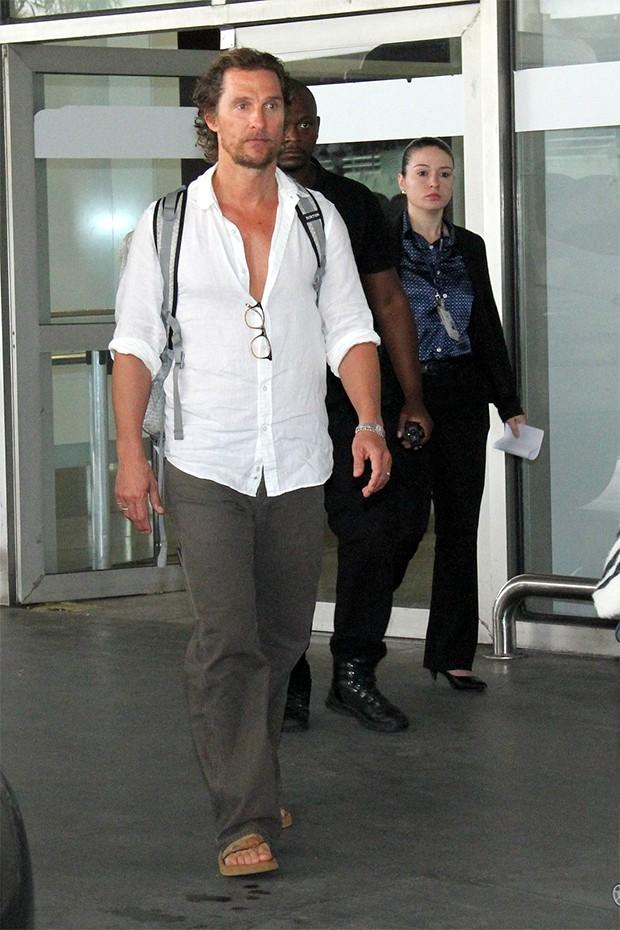 Matthew McConaughey (Foto: Wallace Barbosa/AgNews)