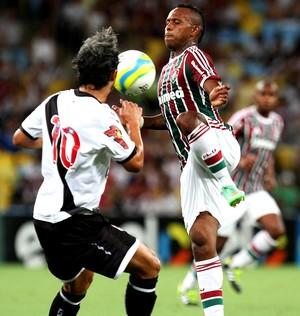 Chiquinho fluminense Douglas vasco carioca (Foto: Ricardo Ayres / Photocamera)
