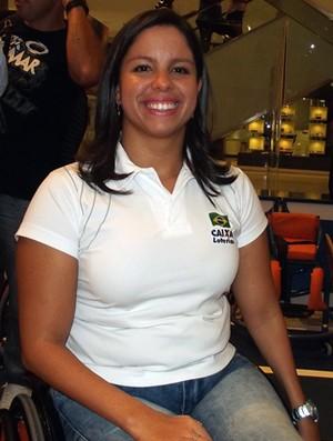 Edênia Garcia, nadadora paralímpica (Foto: Klênyo Galvão)