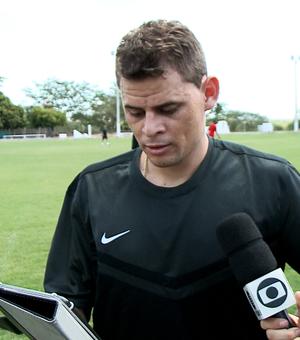 Jonas, volante do Flamengo (Foto: Reprodução/TV Clube)