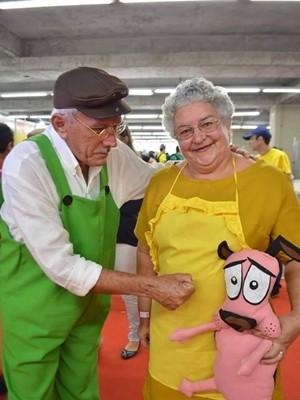 Casal faz sucesso em eventos de cultura pop (Foto: Cinara Paiva/Arquivo Pessoal)