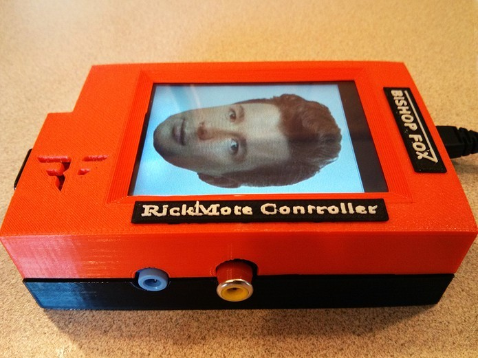Rickmote Controller invade TV com Chromecast e exibe clipe de Rick Astley (Foto: Reprodução/Bishop Fox)