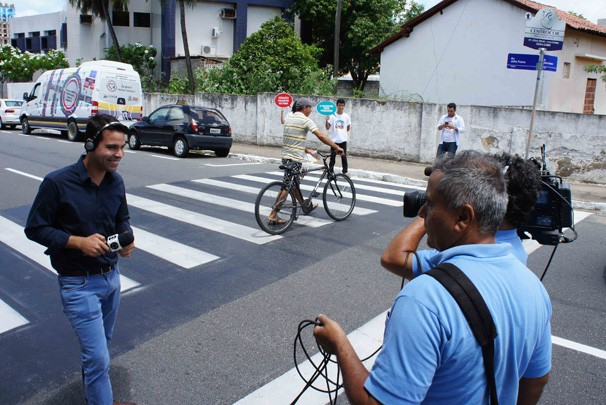 Ação educativa (Foto: Alysson Bernardo/TV Cabo Branco)