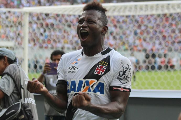 Riascos; Fluminense x Vasco (Foto: Carlos Gregório Jr-Vasco.com.br)