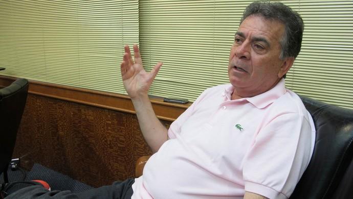 Paulo Pelaipe, diretor de futebol do Flamengo (Foto: Richard Souza)