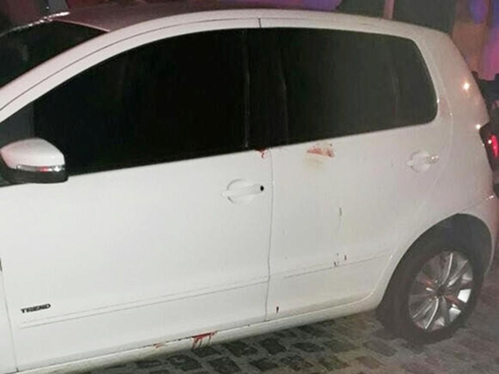 Motorista de Uber foi atacado no bairro Nazaré na noite deste domingo (2). (Foto: Divulgação/PM RN)