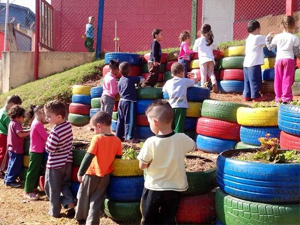 Mais de 100 crianças participam das atividades (Foto: Divulgação/ Quintal Mágico)