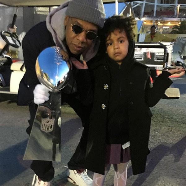 Jay Z e Blue Ivy (Foto: Instagram)