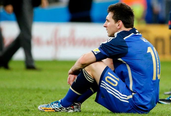Messi argentina derrota final copa do mundo (Foto: André Durão)