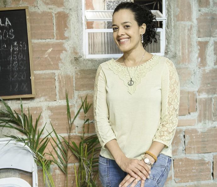 Maeve Jinkings comemora a repercussão de Domingas, em 'A Regra do Jogo' (Foto: Globo/Caiuá Franco )