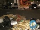 Com greve dos garis, moradores reclamam de acúmulo de lixo no ES