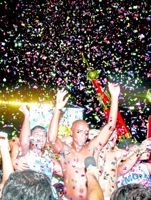 Campinense campeão de 2008 (Foto: Leonardo Silva / Jornal da Paraíba)