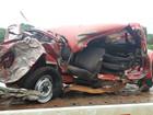 Mulher de 29 anos morre ao capotar carro na BR-282 no Oeste de SC