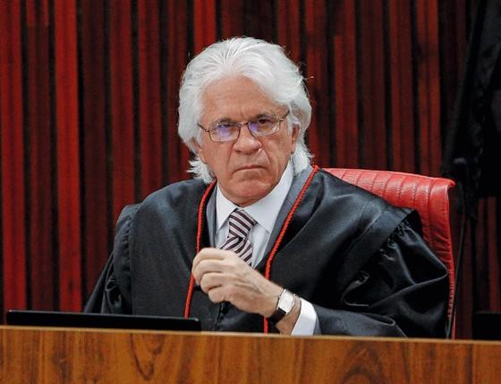 O ministro do TSE Napoleão Maia (Foto: Sérgio Lima/ Época)
