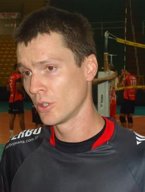 Thiago Brendle (Foto: Assessoria de Imprensa Montes Claros Vôlei)