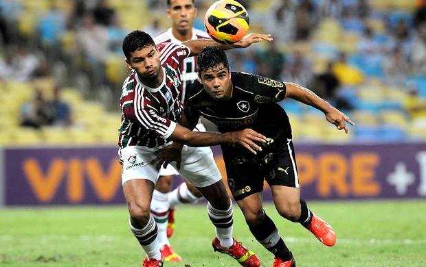 Gum e Edilson Fluminense e Botafogo (Foto: Andre Durão)