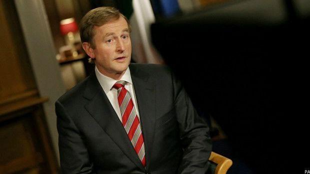Premiê irlandês, Enda Kenny declarou voto a favor da legalização do casamento gay  (Foto: PA)