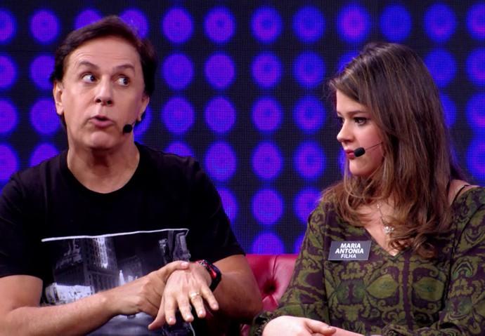 Tom Cavalcante conta como é na hora de buscar a filha das festas (Foto: TV Globo)