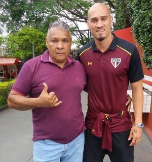 Maicon pai Maurides São Paulo  (Foto: Arquivo pessoal)
