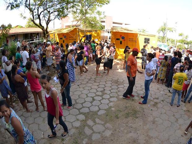 Ação Global em São Luís (Foto: Divulgação / Fiema)