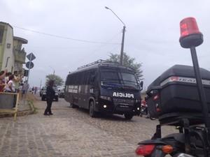 Vereadores devem ocupar duas celas na penitenciária (Foto: Thomás Alves / TV Asa Branca)