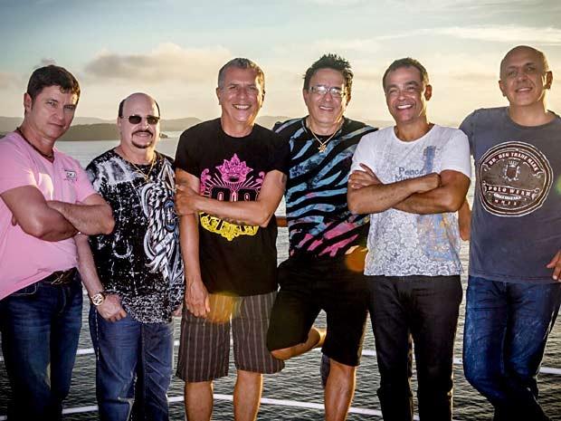 Músicos da banda Roupa Nova em transatlântico (Foto: Ique Esteves/Divulgação)