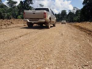 Estrada Parque foi liberada para o tráfego no domingo (Foto: Decom/Divulgação)