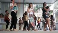 Dança materna e baby ioga são opções de atividades para mães e bebês