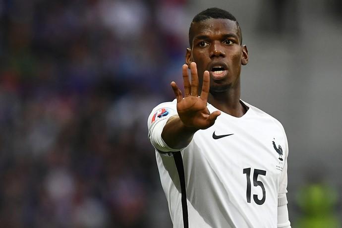 Pogba França Eurocopa (Foto: AFP)