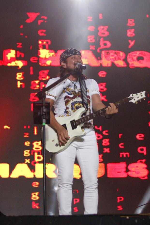 Bell Marques no Festival Virada Salvador 2018 (Foto: Ricardo Cardoso e Ícaro Cerqueira/Ed. Globo)