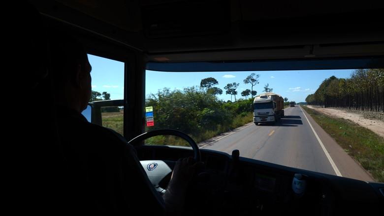 caminhos_da_safra_caminhao (Foto: José Medeiros / Editora Globo)