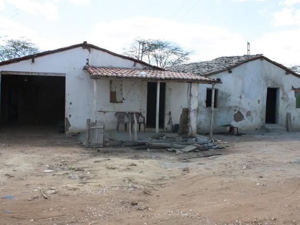 Casa seria como depósito para o cimento desviado (Foto: Divulgação/ Polícia Federal)