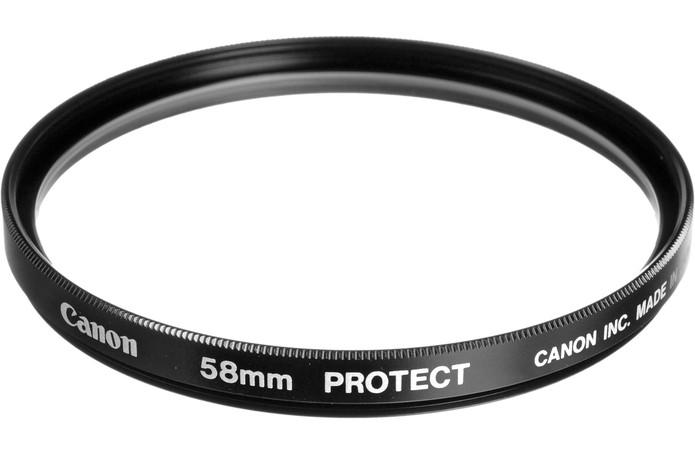 Filtros UV evitam contato da lente com sujeira (Foto: Divulgação/Canon)