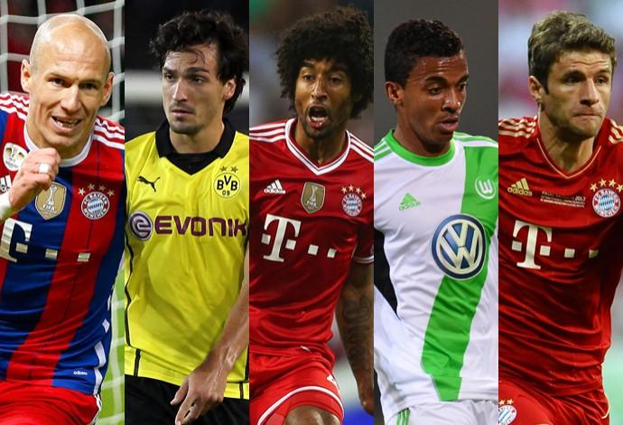 Alemão é o campeonato que possui mais jogadores nas semis da Copa ... d5eeccd5c4ad6